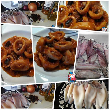 Calamares a la Mallorquina (Thermomix / Manual)