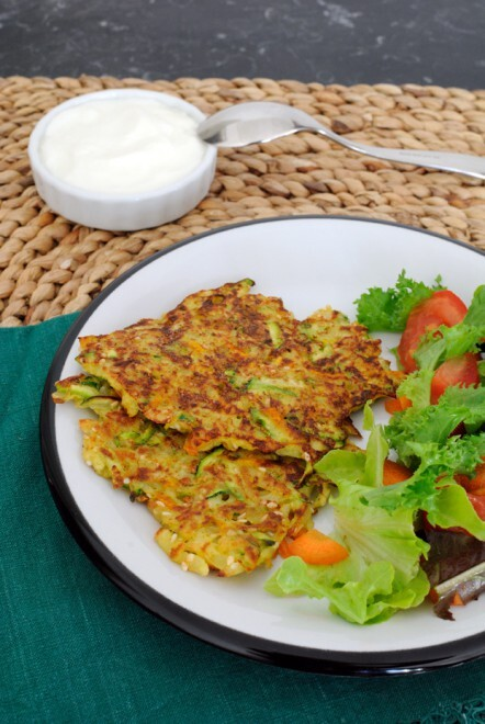 Living on my own: Vegetable and Spices Latkes / Living on my own: Latkes di verdure speziati