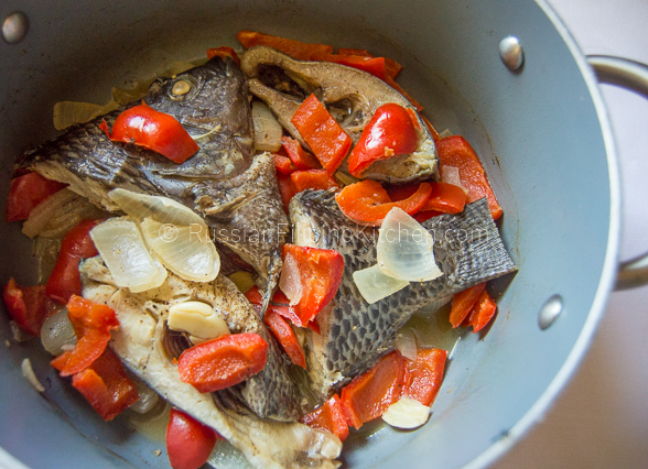 Paksiw na Tilapia (Fish Braised in Vinegar and Spices)
