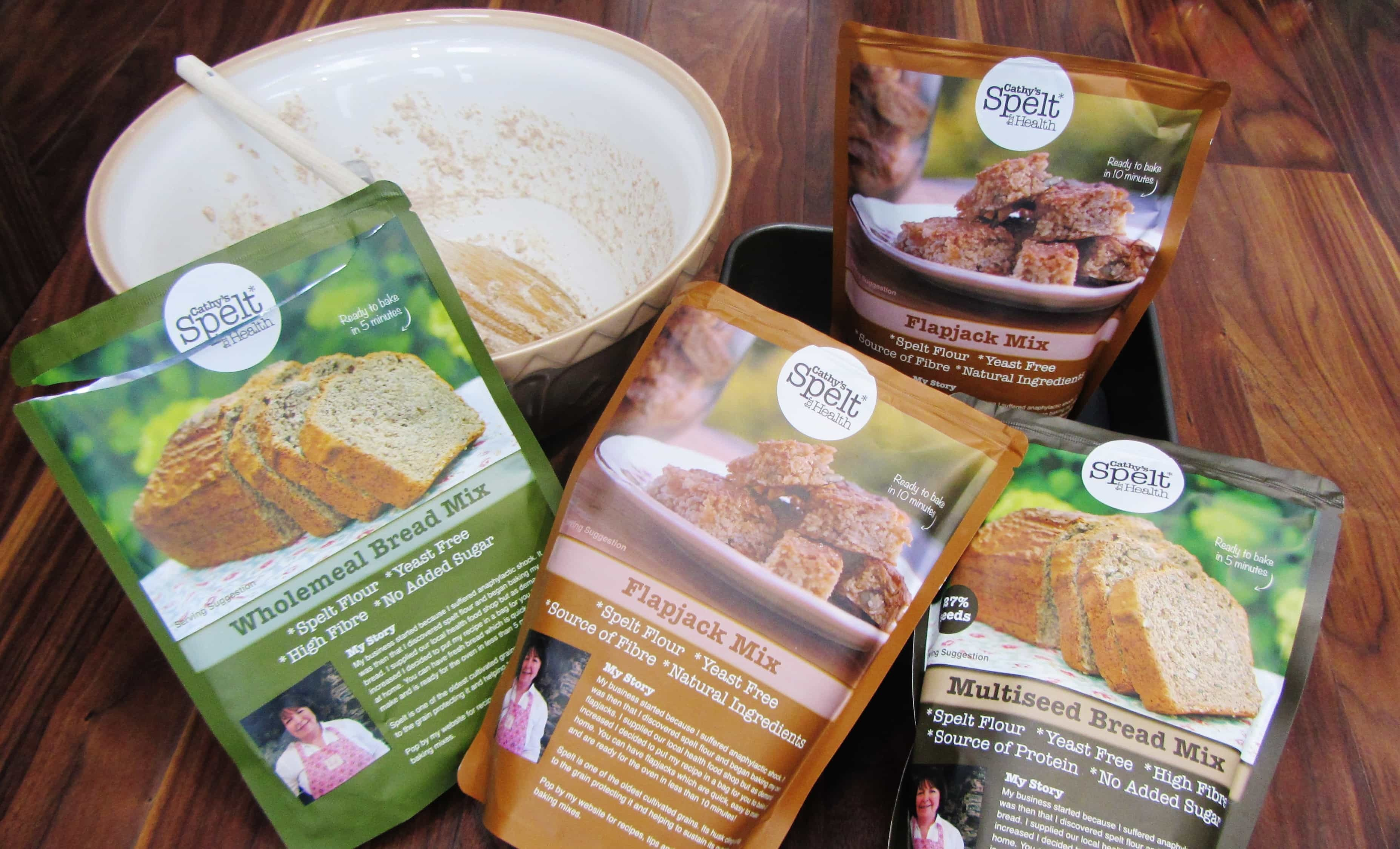 Review & Giveaway: Spelt for Health Bread and Flapjack Mixes