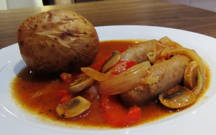 clean eating sausage casserole