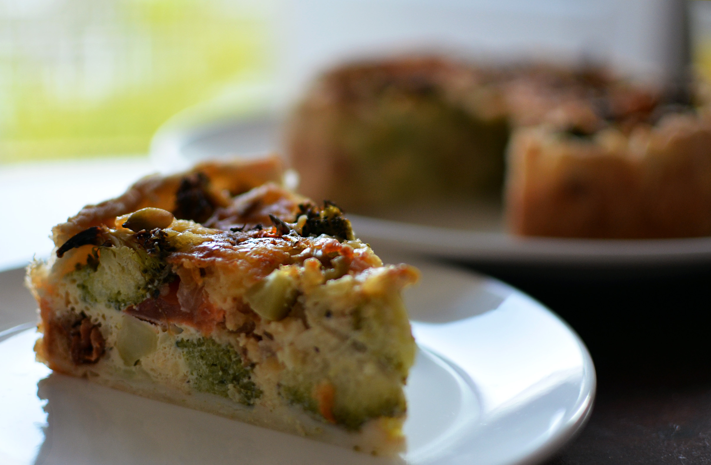 Broccoli quiche met rozemarijn