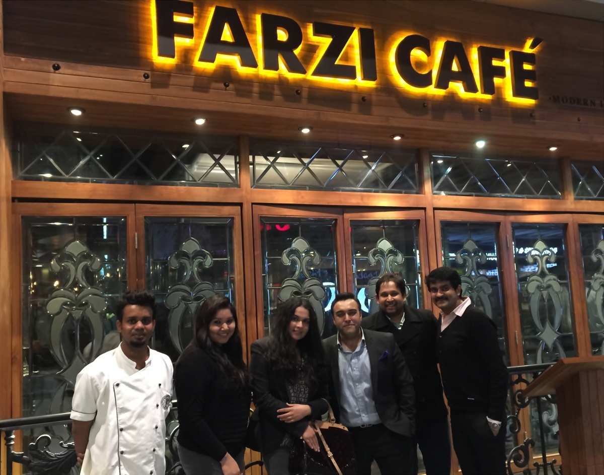 Restaurant Review: Farzi Cafe, Gurgaon – 5/5 Stars
