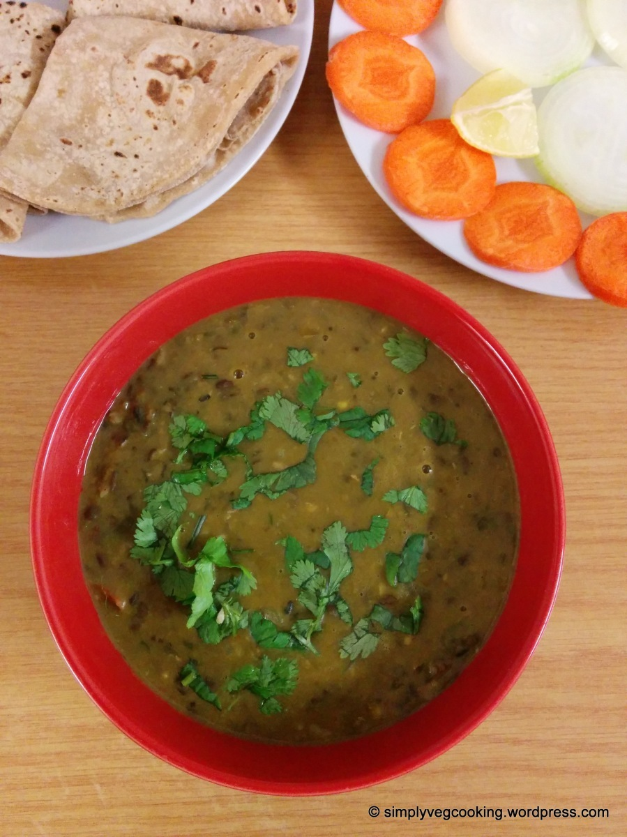 Black Gram /Urad Dal Curry Recipe
