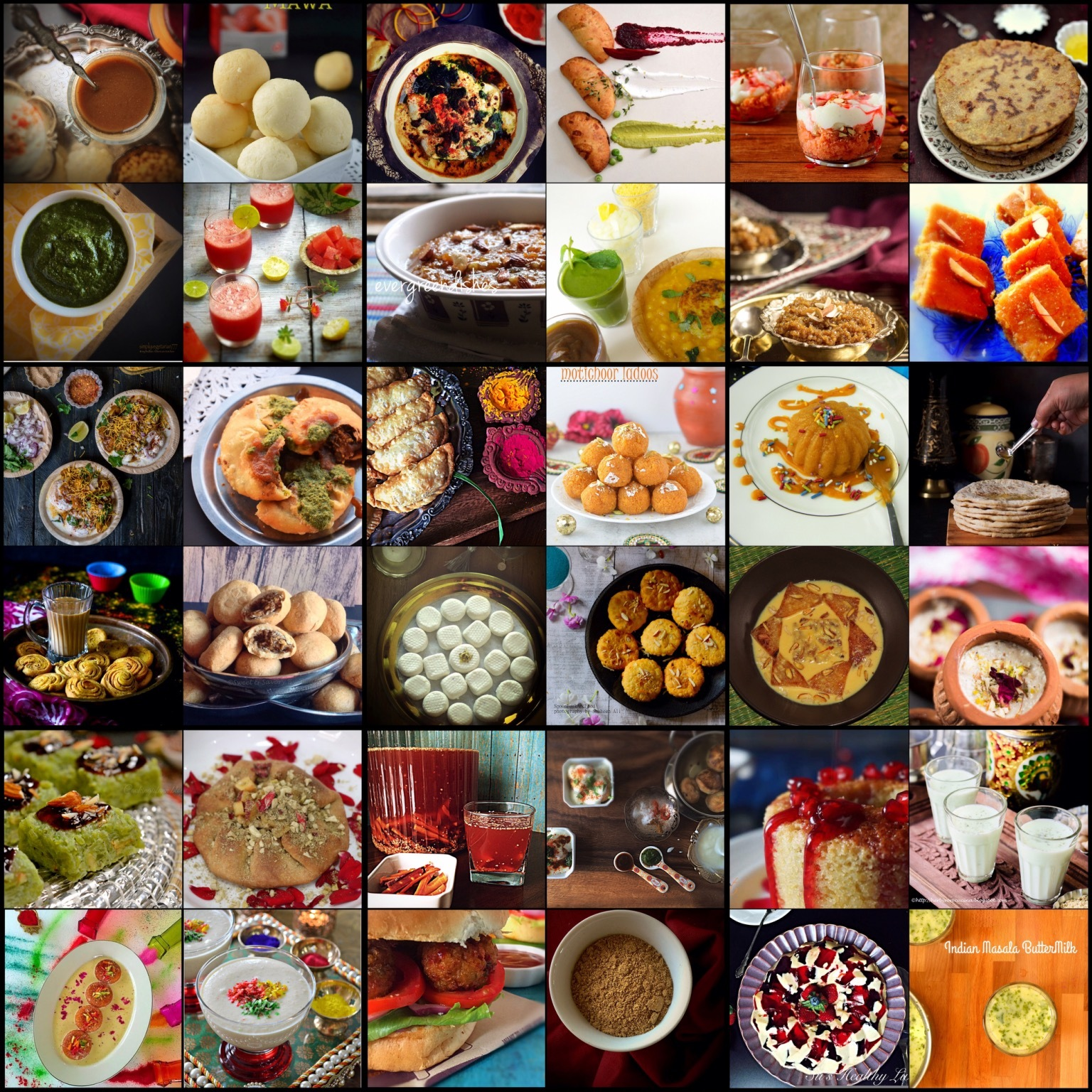 Holi Recipes Collection – 2016