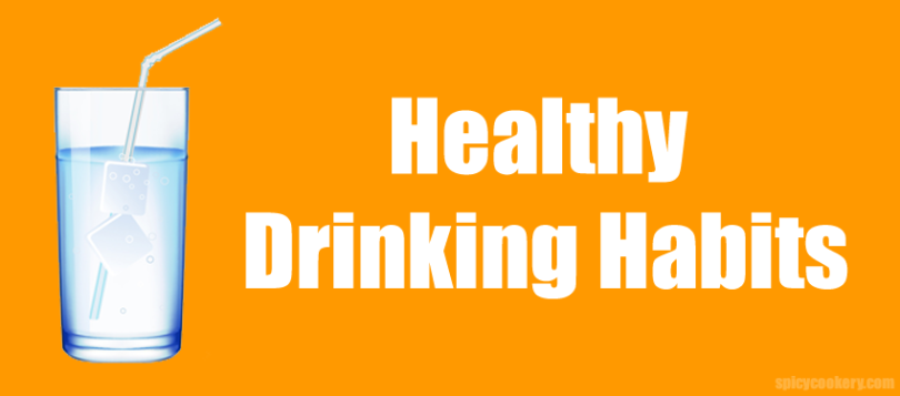 Healthy drinking habits