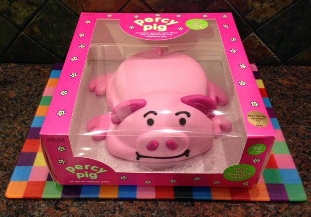 Review: Percy Pig Celebration Cake