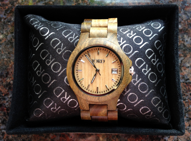 Giveaway: Ely Series Wood Watch by JORD