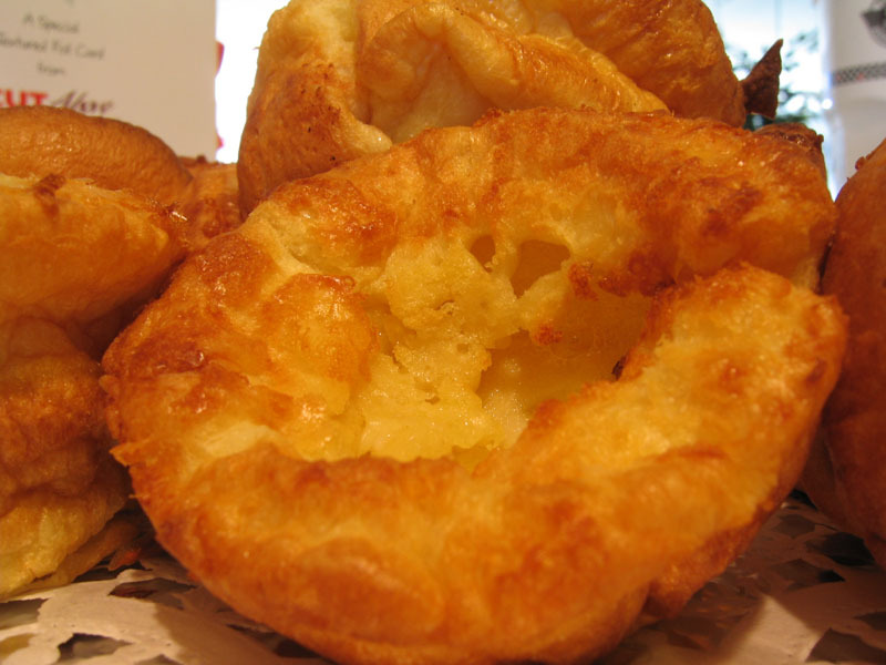 Zoete Yorkshire puddings