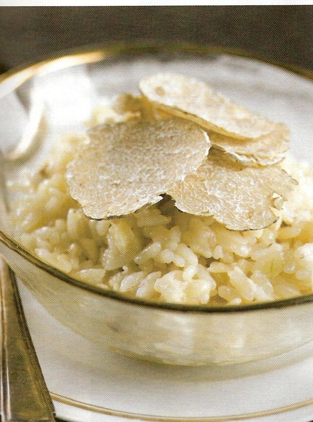Risotto met witte truffel