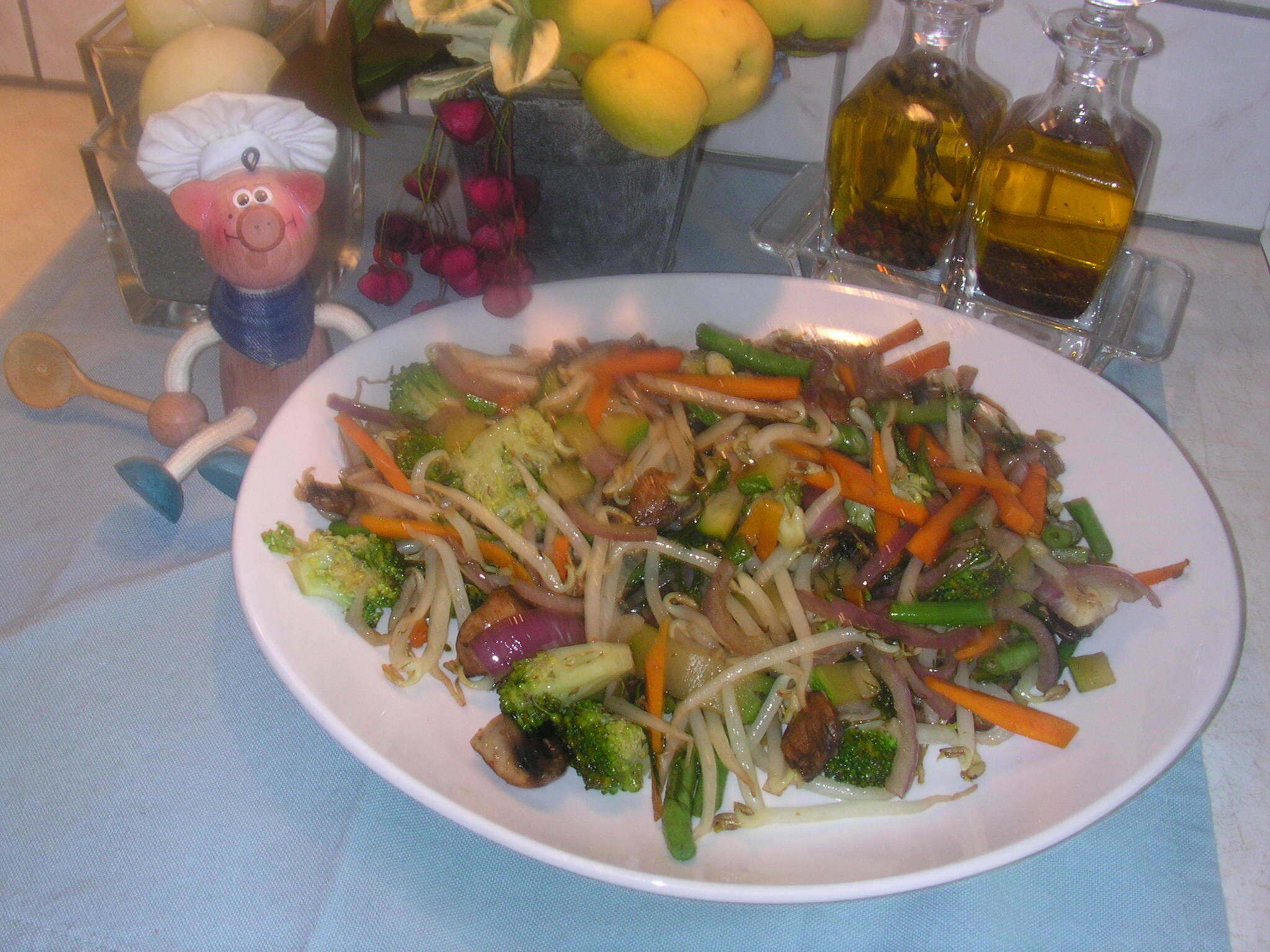 Wok vegetables