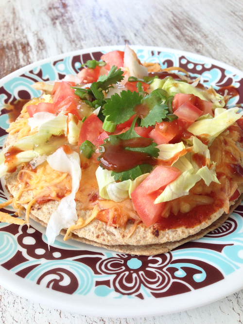 Healthified Mexican Pizza