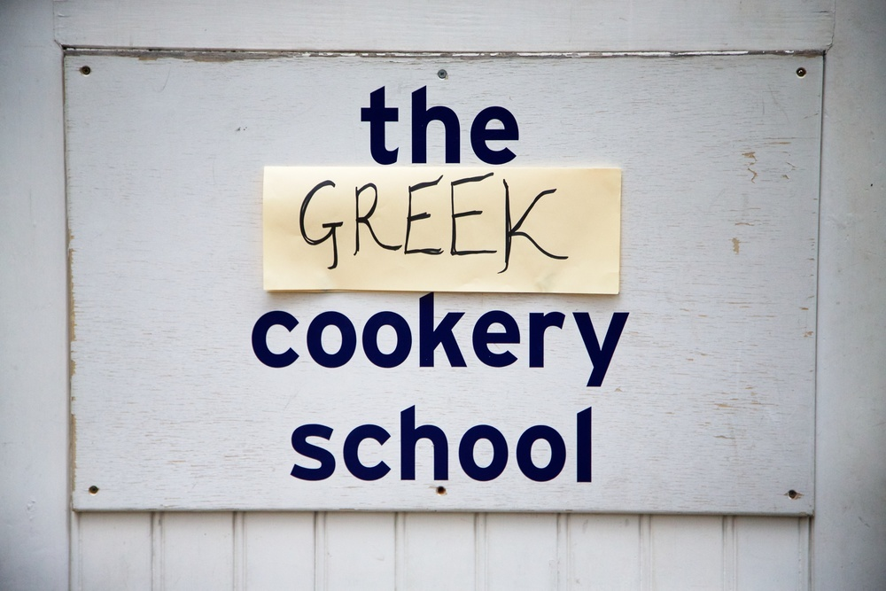 Greek Cookery Class with Tonia Buxton