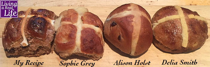Hot Cross Bun Recipe Review