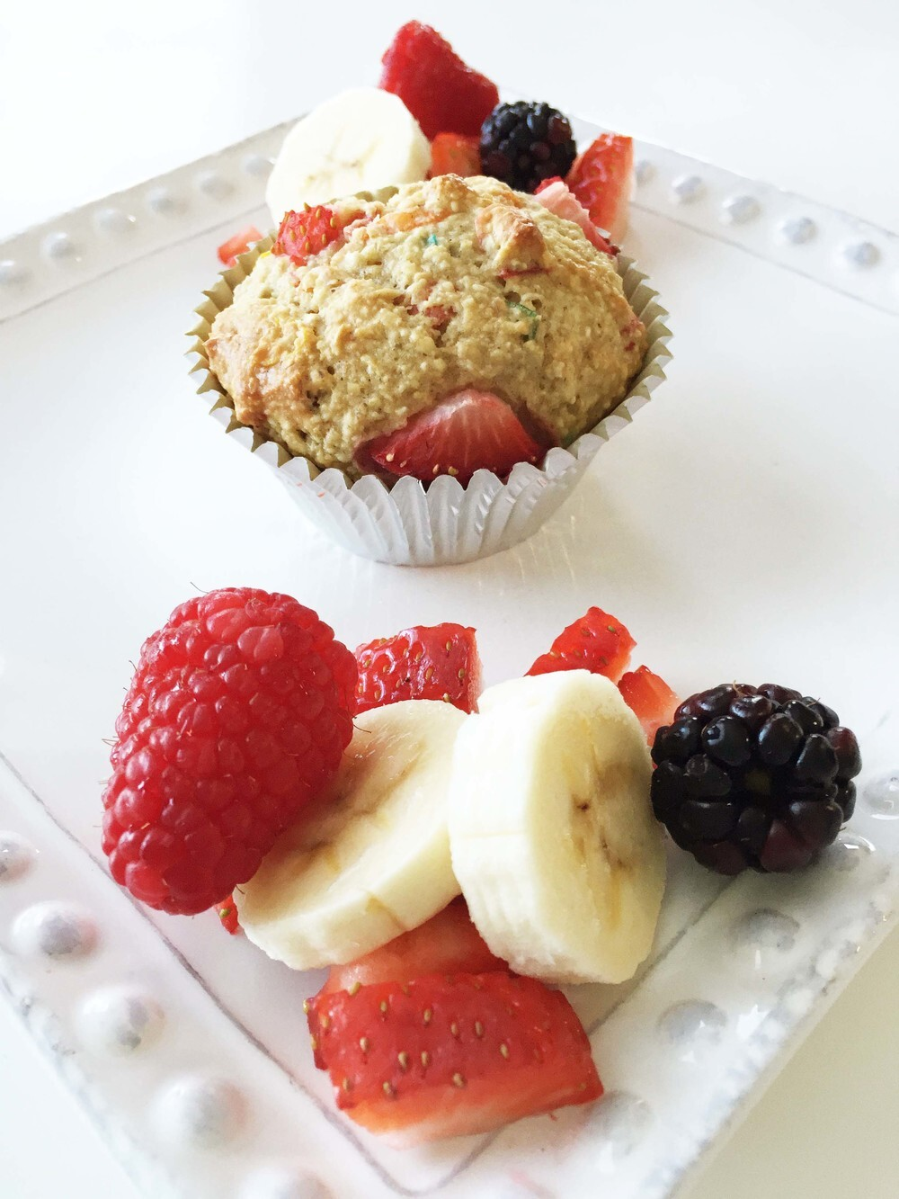 Skinny Tutti-Fruity Breakfast Muffins