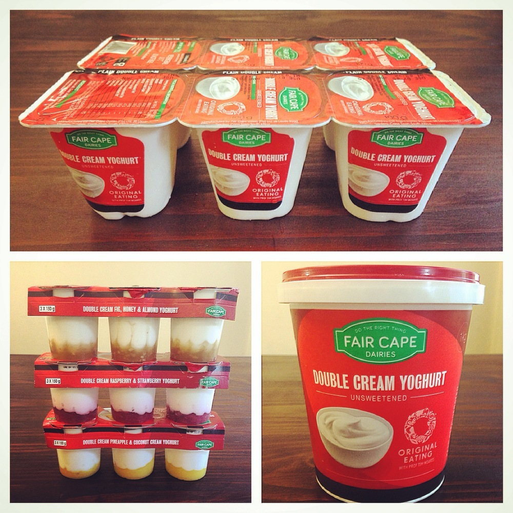 Review : Fair Cape & Tim Noakes Banting Yoghurts!