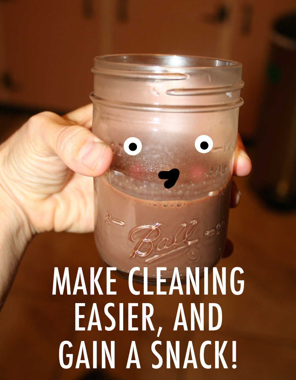 Make Dish Washing Easier By Making Chocolate Milk