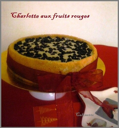 Charlotte aux fruits rouges de Mercotte