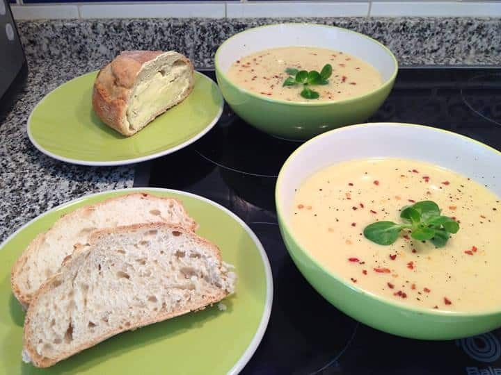 Easy recipe for students:  Spicy Parsnip Soup!