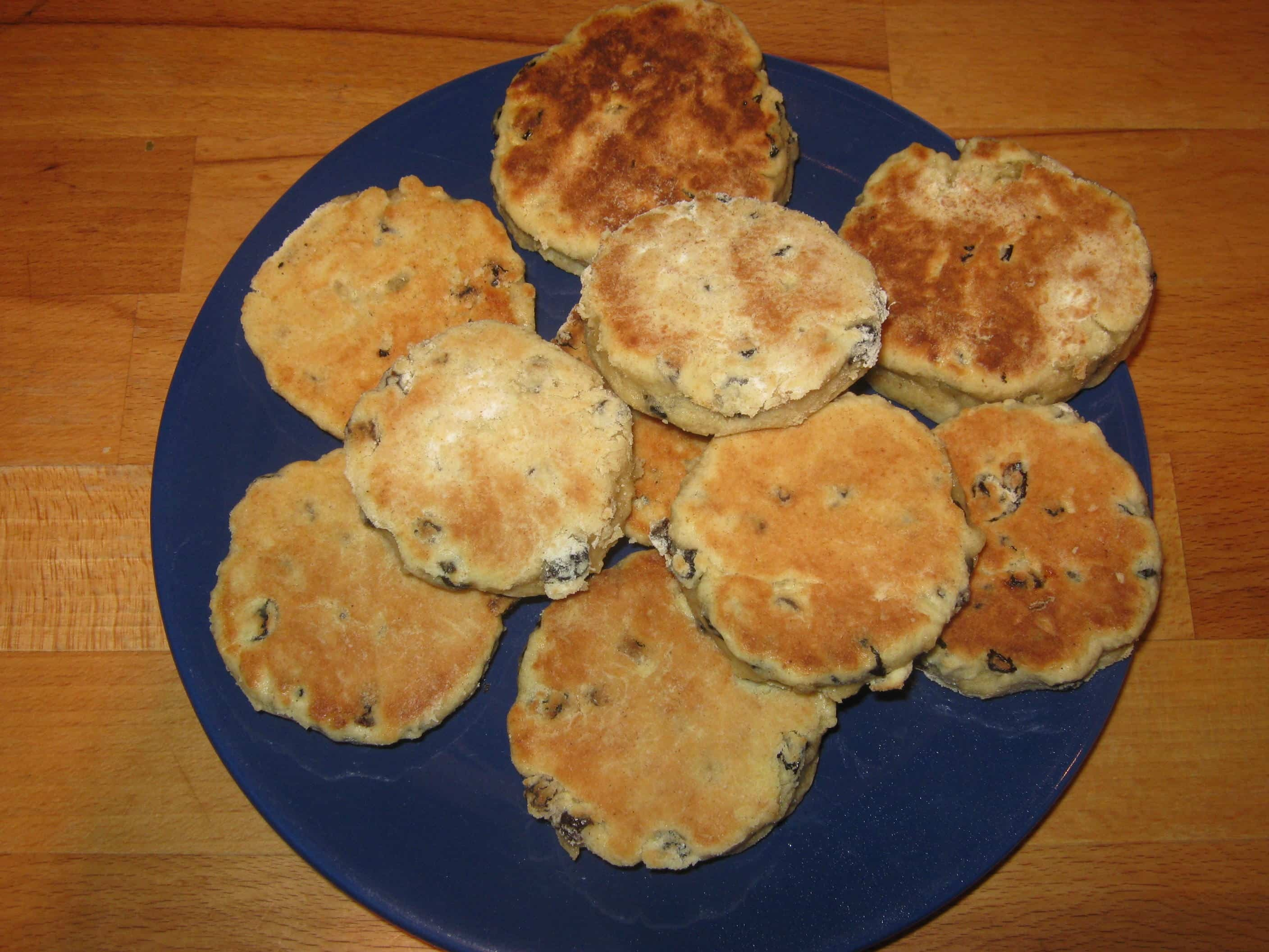 Chocolate Chip Welshcakes recipe