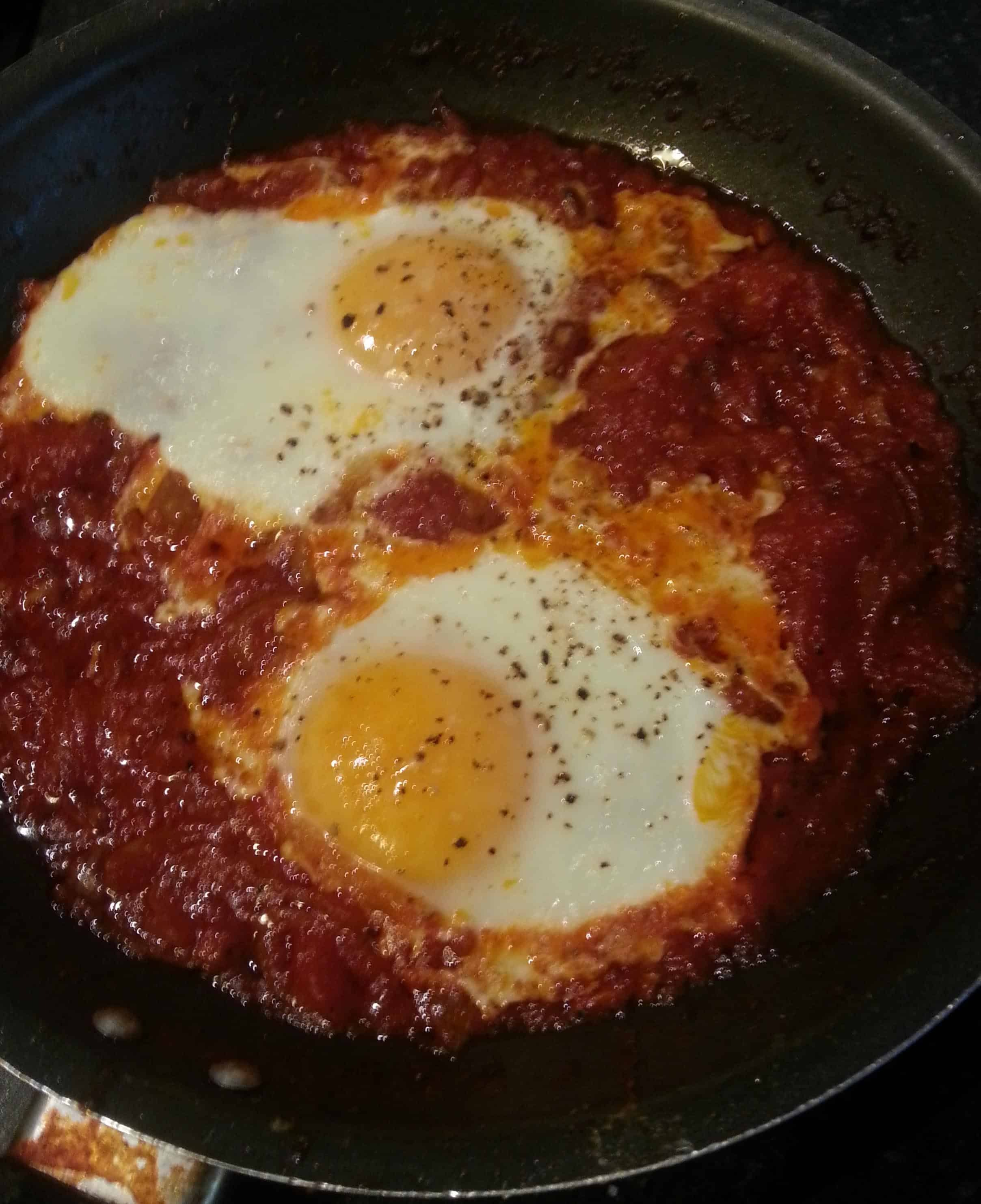 Mexican Eggs breakfast recipe