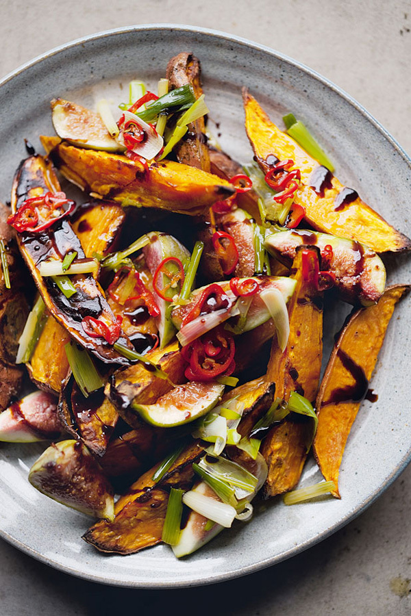 FOOD HEAVEN | OTTOLENGHI SWEET POTATO AND FIG SALAD