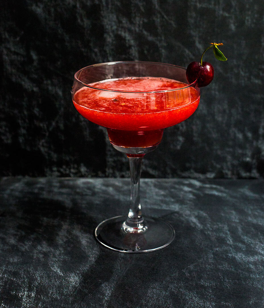 My Watermelon & Sour Cherry Cocktail
