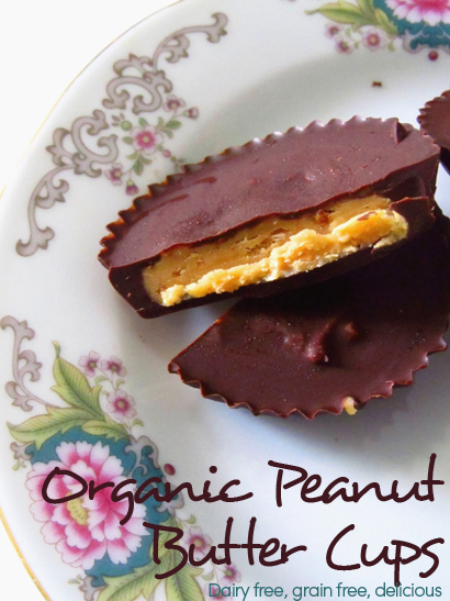 Peanut Butter Cups Recipe, Birthday Fun & Organic Chocolate Giveaway!
