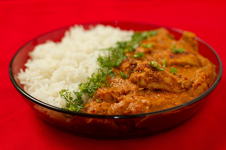 Indian Butter Chicken – Chicken in mild tomato gravy