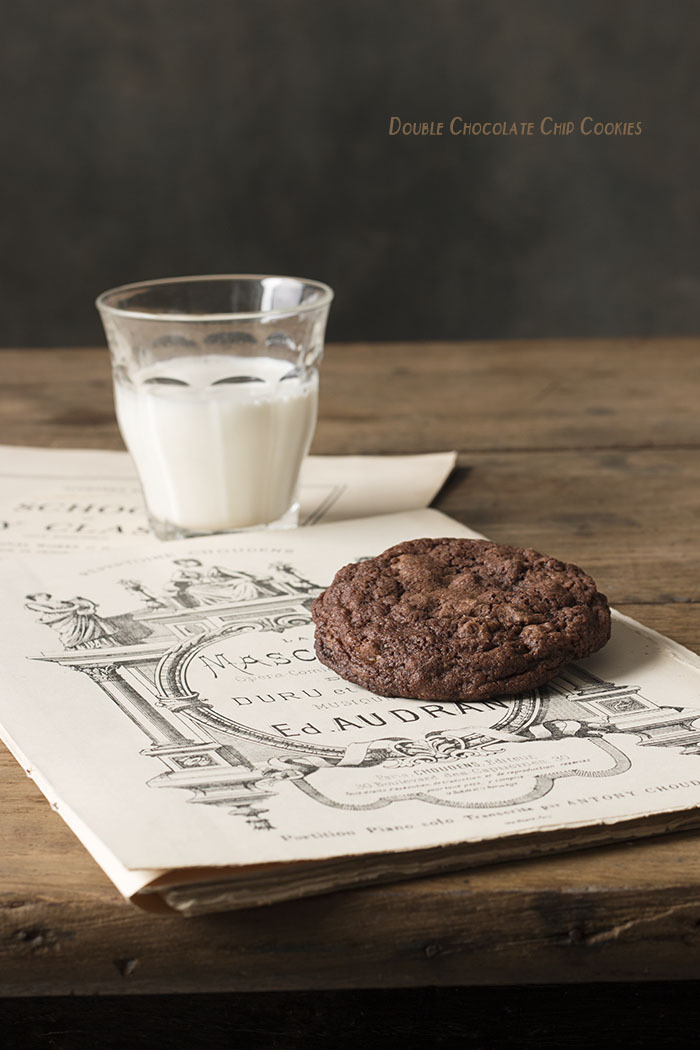 DOUBLE CHOCOLATE CHIP COOKIES, Las mejores