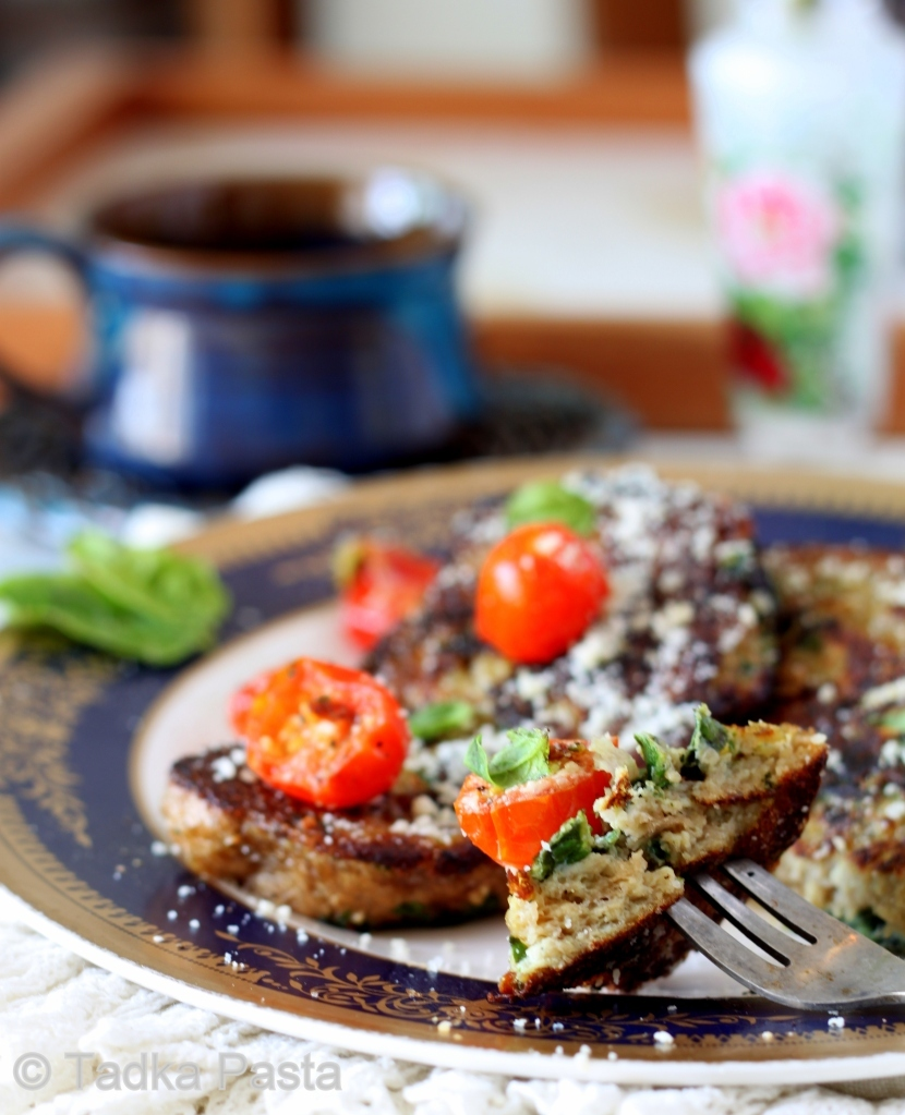 Summery Toast with Herby Notes – Savoury French Toast with Basil