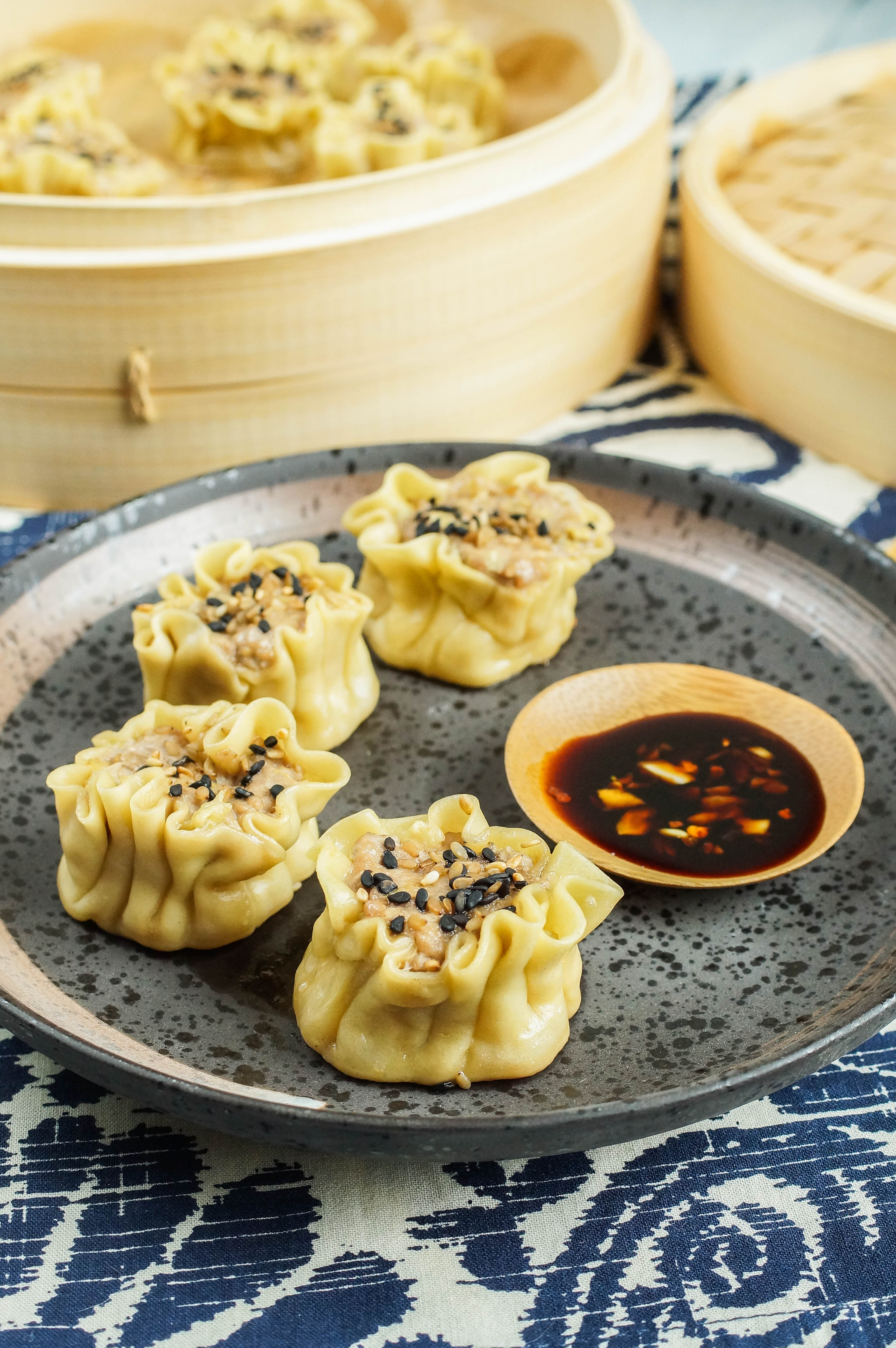The Filipino-American Kitchen Cookbook Review and Shumai (Filipino Pork and Ginger Dumplings)