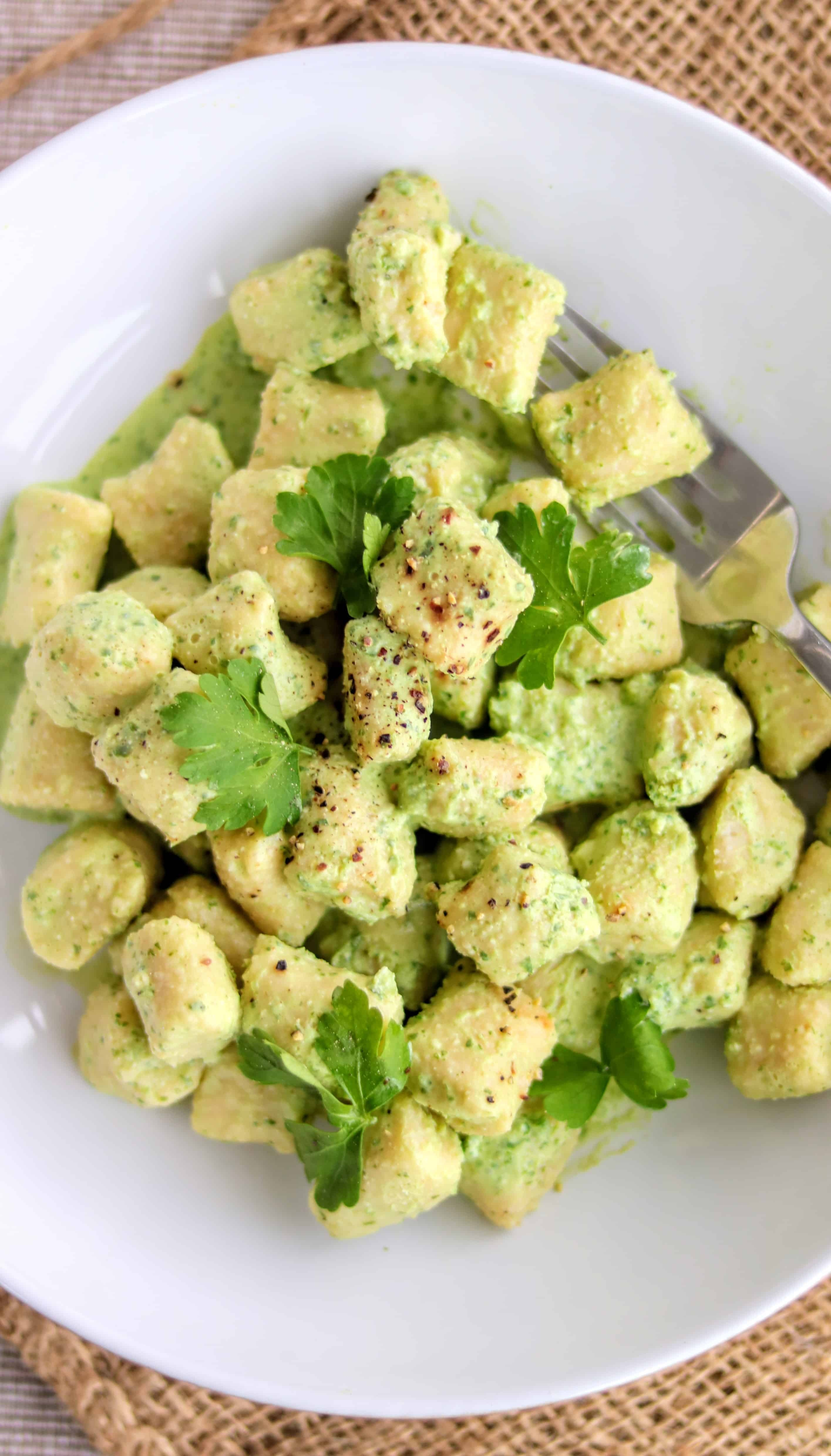 Slimming World Syn Free Gnocchi (With 1.5 Syn Pesto)