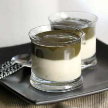Licorice Pate with Vanilla Yoghurt