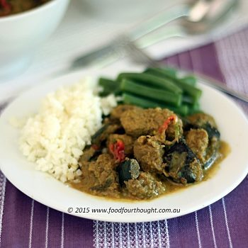 Pork and Eggplant Curry