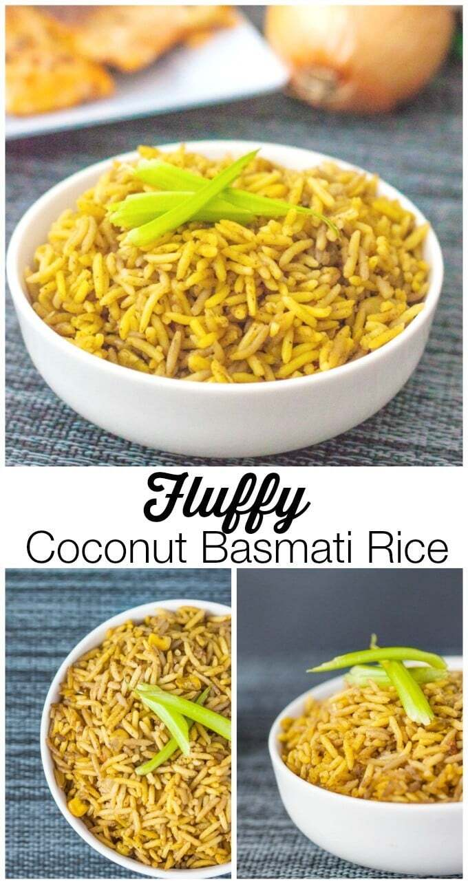 Fluffy Coconut Basmati Rice
