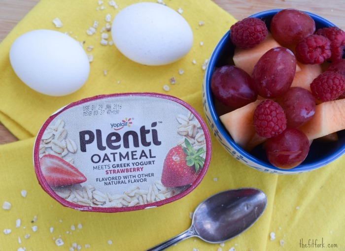 Plenty of Reasons to Eat Breakfast + #PlentiYogurt Coupon