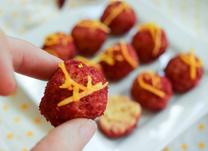 Got Lemons? Make Raspberry Lemonade Protein Bites