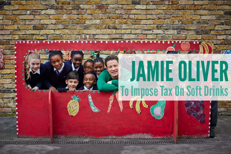 Jamie Oliver To Impose Tax On Soft Drinks