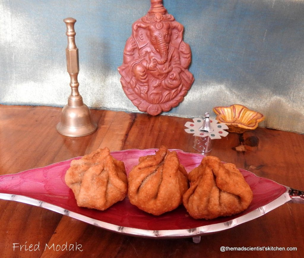 Deep Fried Modak~ Ganesh Special