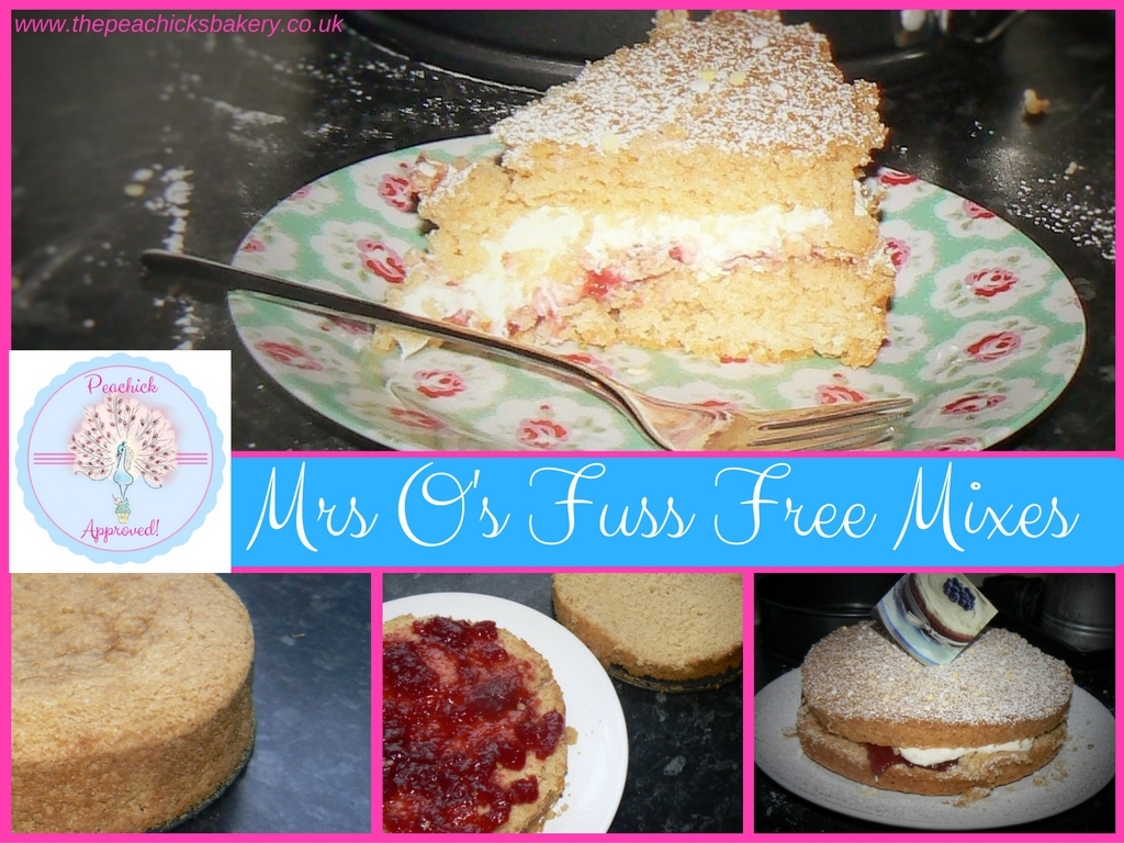 Mrs O's Eggfree & Gluten Free Cake Mix – Review