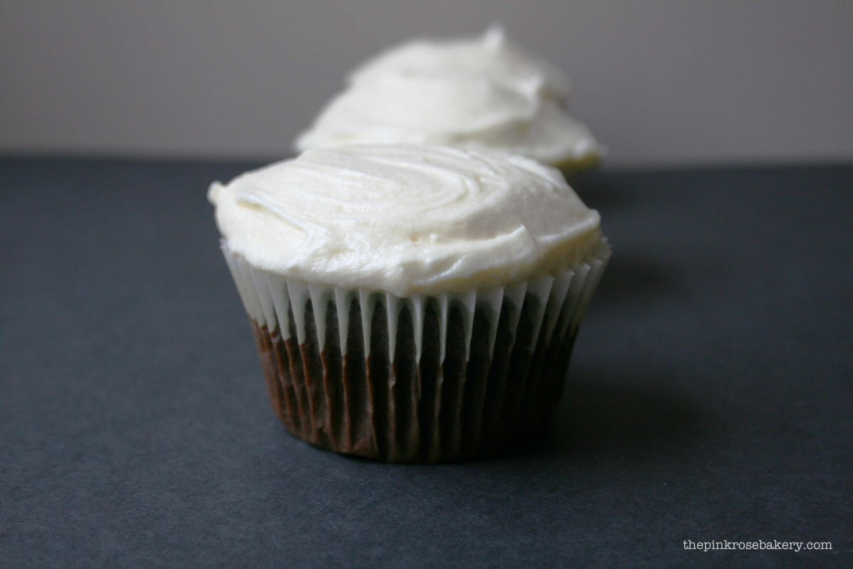 Devilishly Wicked Chocolate Cupcakes with Vanilla Sea-salt Buttercream