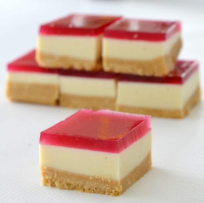 Easy Thermomix Jelly Slice