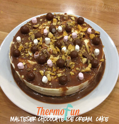 ThermoFun – Wicked Wednesday – Malteser Chocolate Ice-cream Cake Recipe