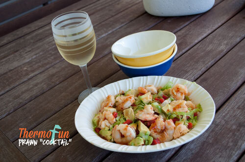 ThermoFun – MAD MONDAY – Quick 4 Minute Prawns & Sauces Recipe