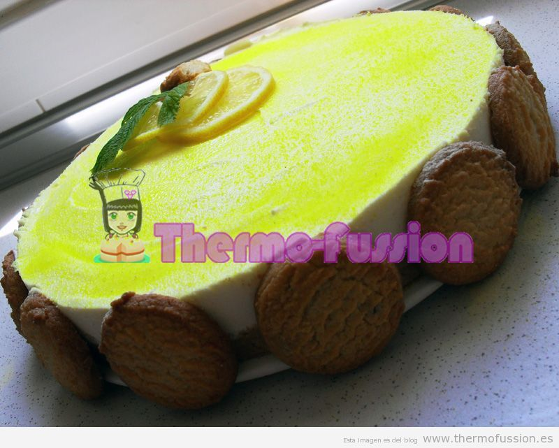 TARTA MOUSSE DE LIMON THERMOMIX TM31