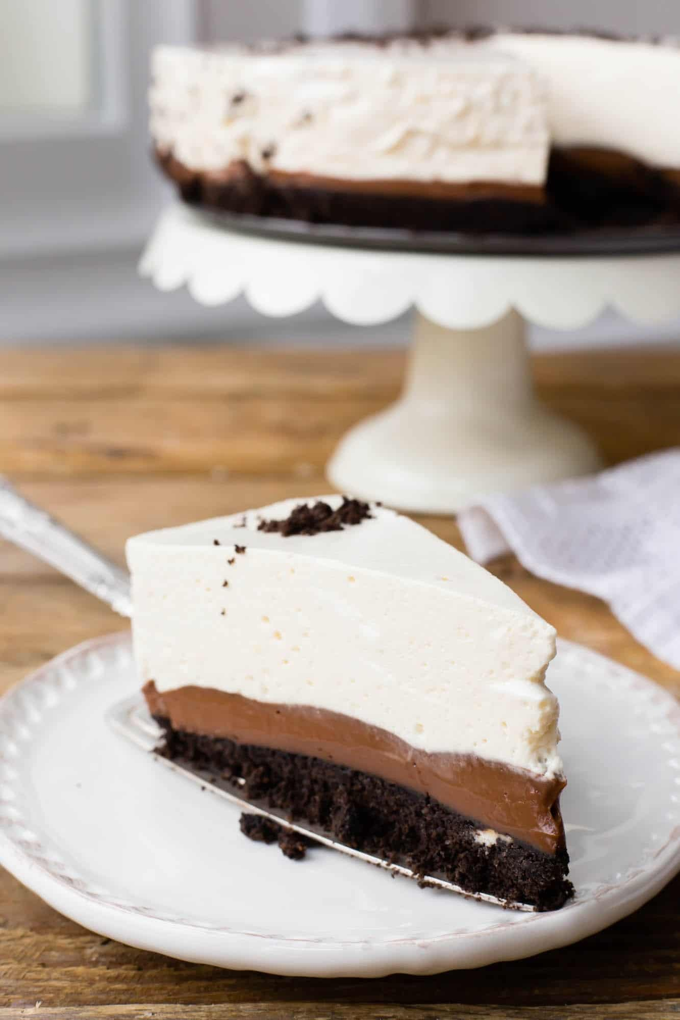 Thermomix No-Bake Oreo Pie
