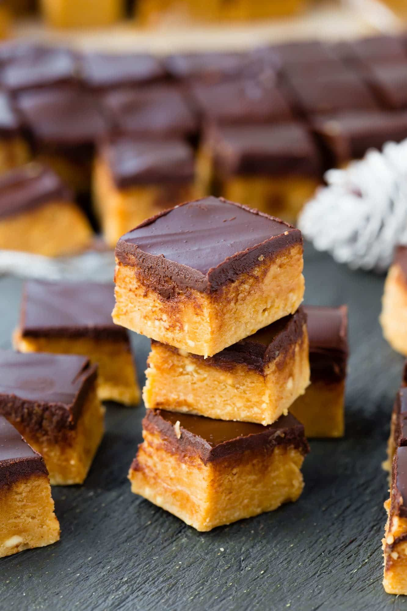Thermomix Peanut Butter Chocolate Fudge