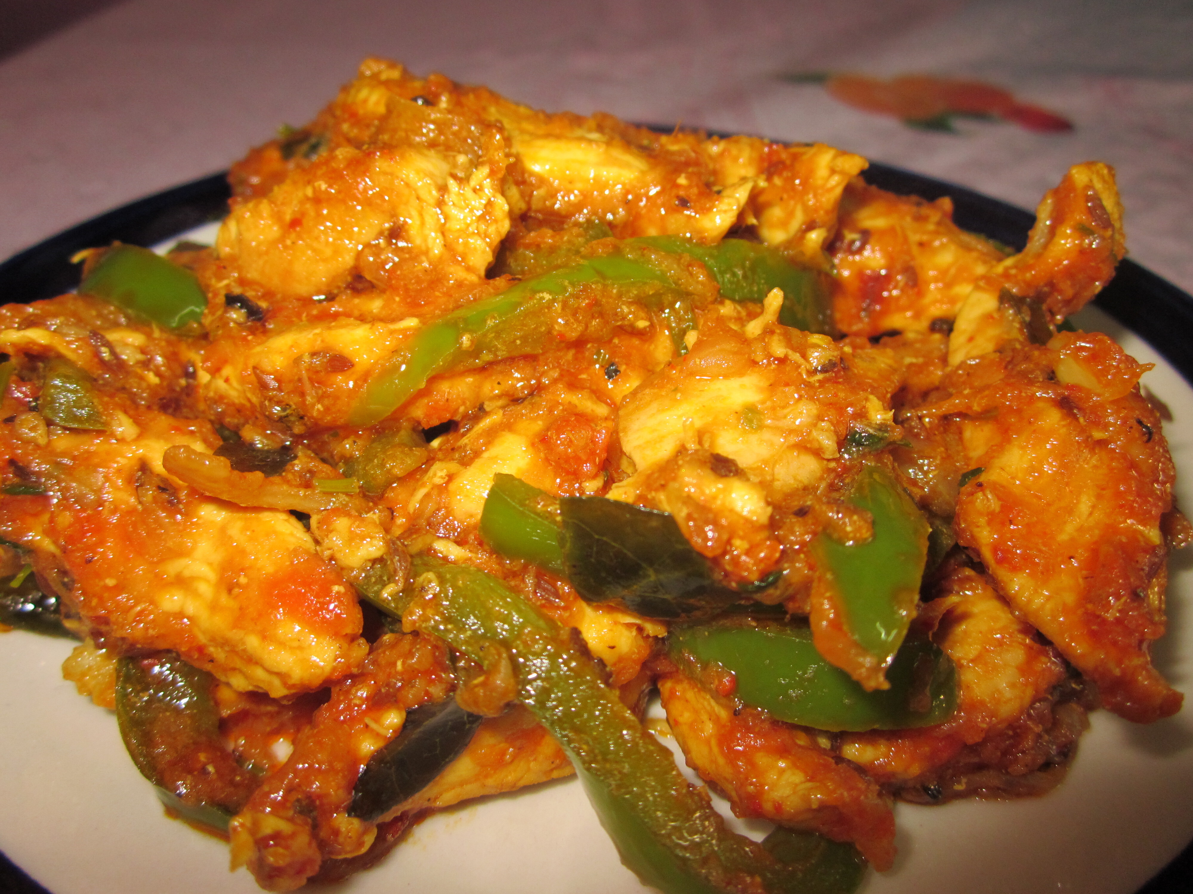 Chicken Pepper Fry!