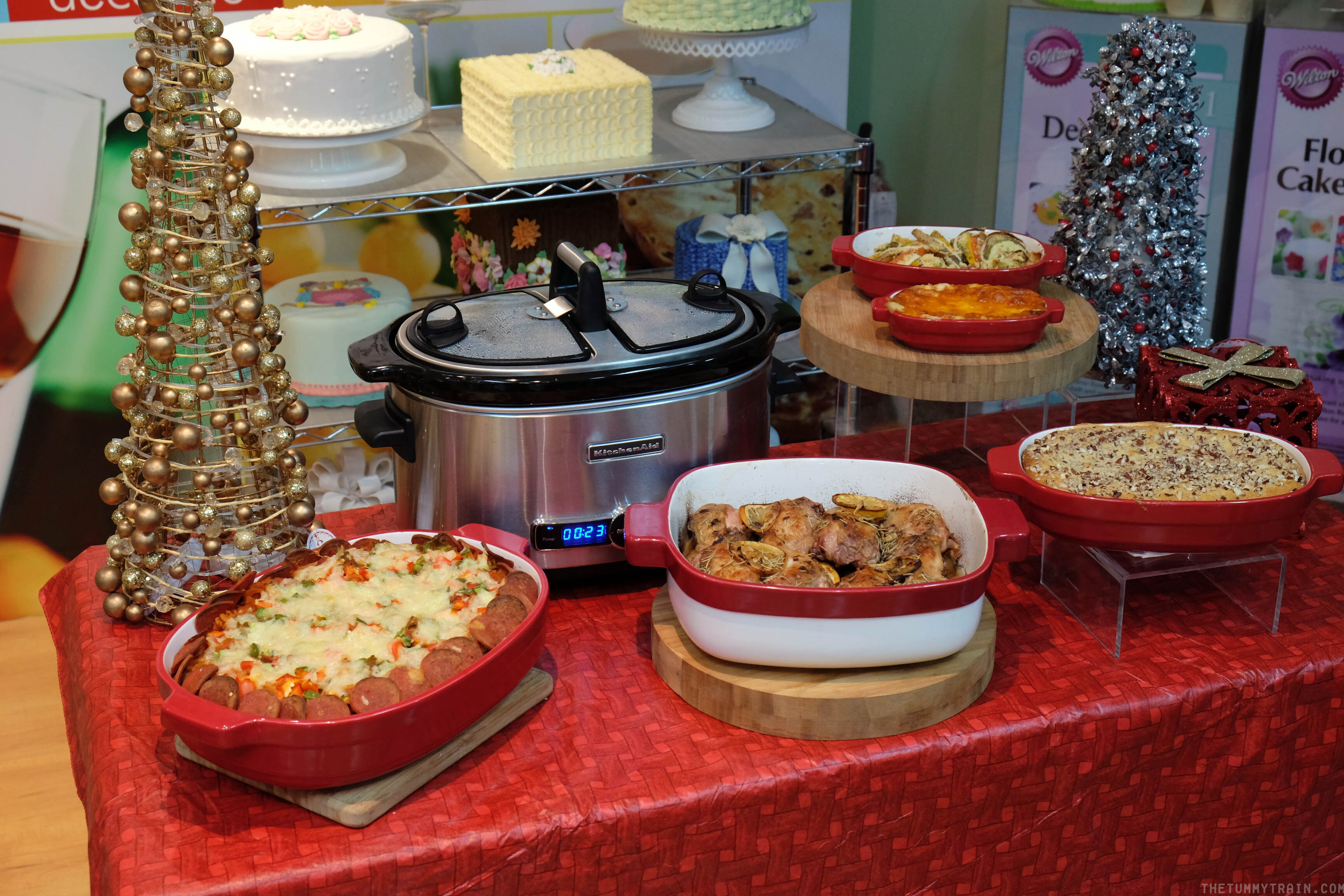 Kicking off the holiday cooking mania with KitchenAid